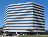 A picture of the office building in Dallas, Texas